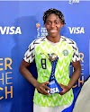 Asisat Oshoala Nominated For CAF Award