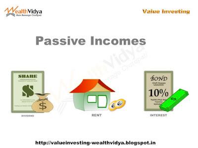 Passive Incomes