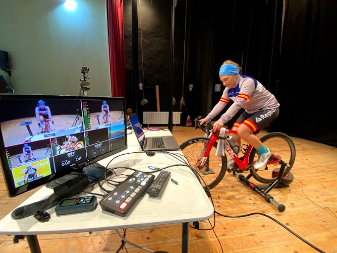 La española María José Silvestre completa 653 kilómetros en el Campeonato del Mundo de 24 horas en rodillo virtual
