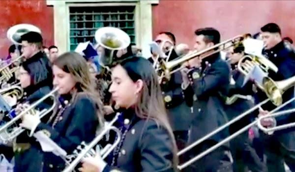 """Concierto de la AM Jesus Nazareno """"Los Morados"""" de Bullas (Murcia) en la Iglesia de San Jacinto (Triana)"""