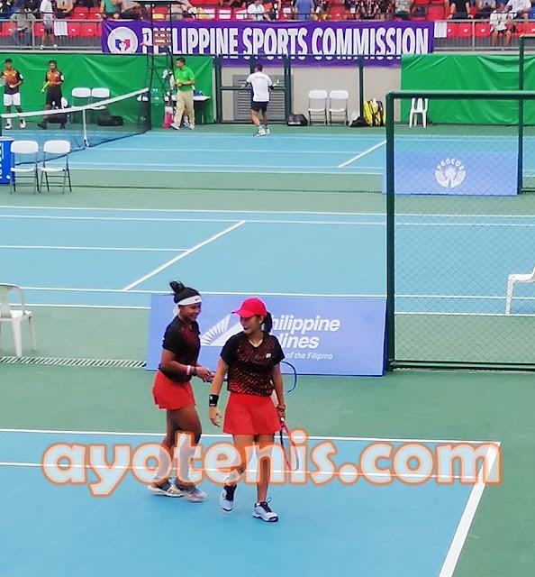 Tenis SEA Games: RifantyPriska Paksa Unggulan 2 Bertarung Rubber Set