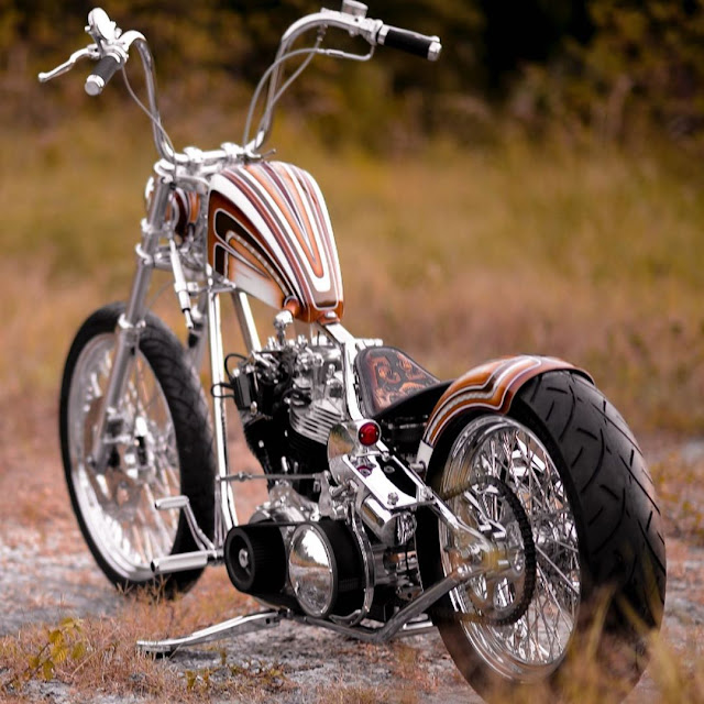 Harley Davidson Shovelhead By It'll Ride Choppers Hell Kustom