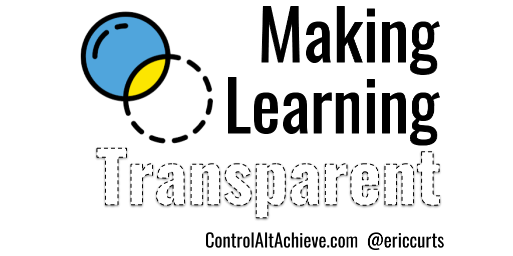 Control Alt Achieve Making Learning Transparent Finding Making And Using Transparent Images For Learning