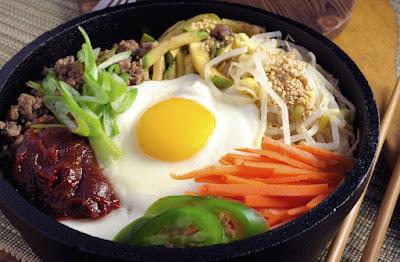 Makanan Korea Selatan