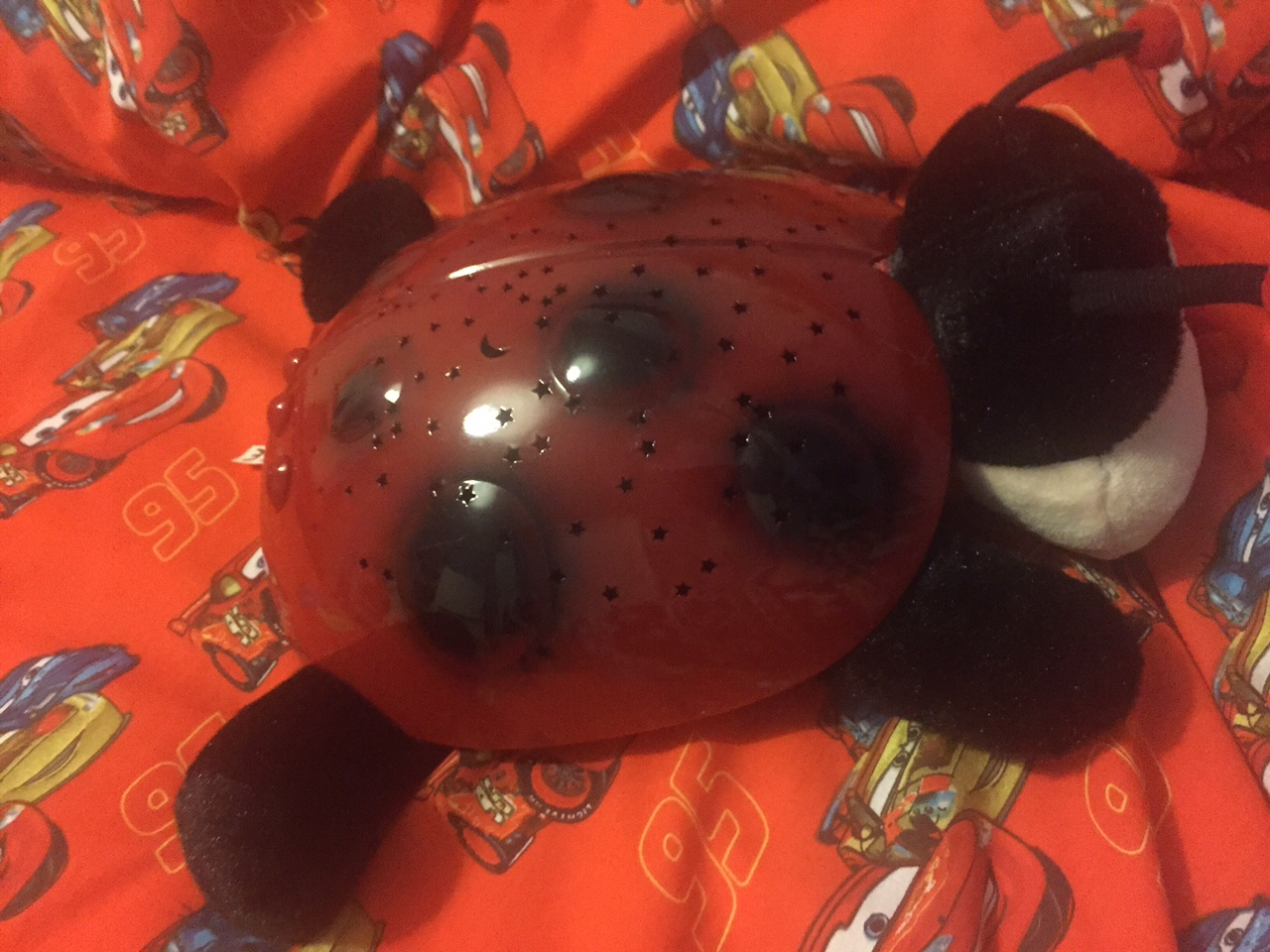 LADYBIRD NIGHT LIGHT PROJECTOR