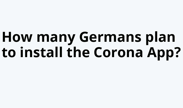 Will Germans accept the COVID-19 app?