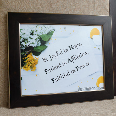Inspirational, Christian Wall Frames, Framed Print In Port Harcourt, Nigeria
