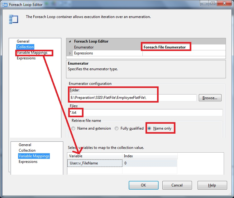 Microsoft SQL Server Knowledge Bank: SSIS – Flat File