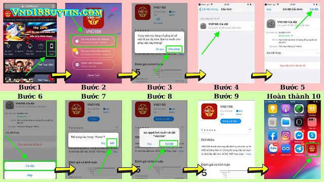Tải game chơi Sicbo Tài Xỉu trên hệ điều hành IOS - Iphone