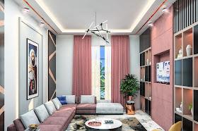 Interior Design (Living Room)