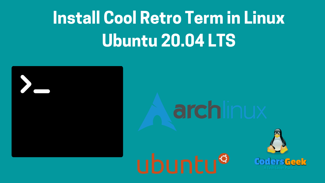 Install Cool retro term on linux