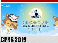 Pendaftaran CPNS 2019 TANGGAL 11-11-2019 PADA JAM 23:11 WIB