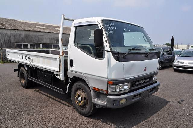 8f6395d65b 2001 Mitsubishi Canter 4ton high deck for Uganda to Mombasa