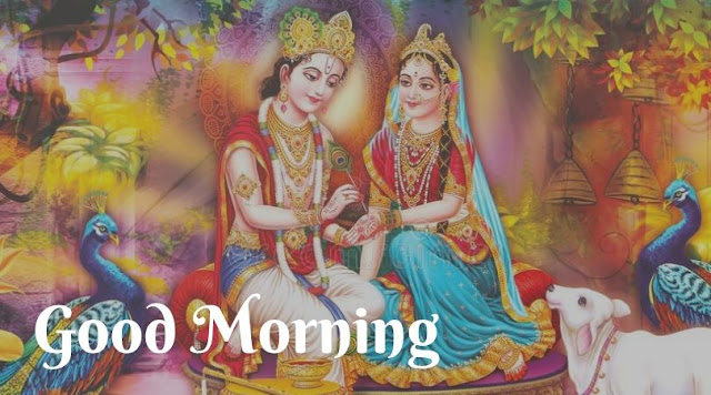 radha krishna good morning pic download