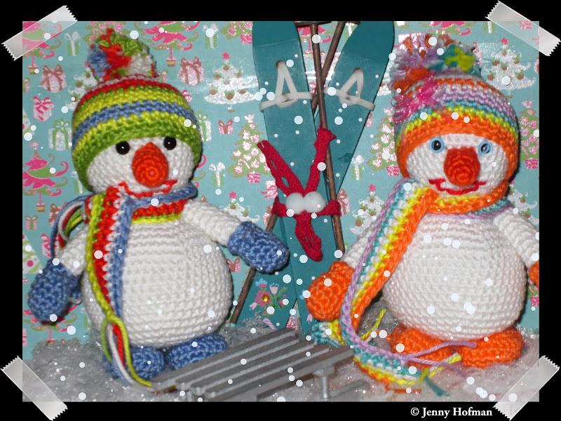 Gratis Haakpatroon Sneeuwpop De Winter Is Inmiddels Begonnen Hoewel