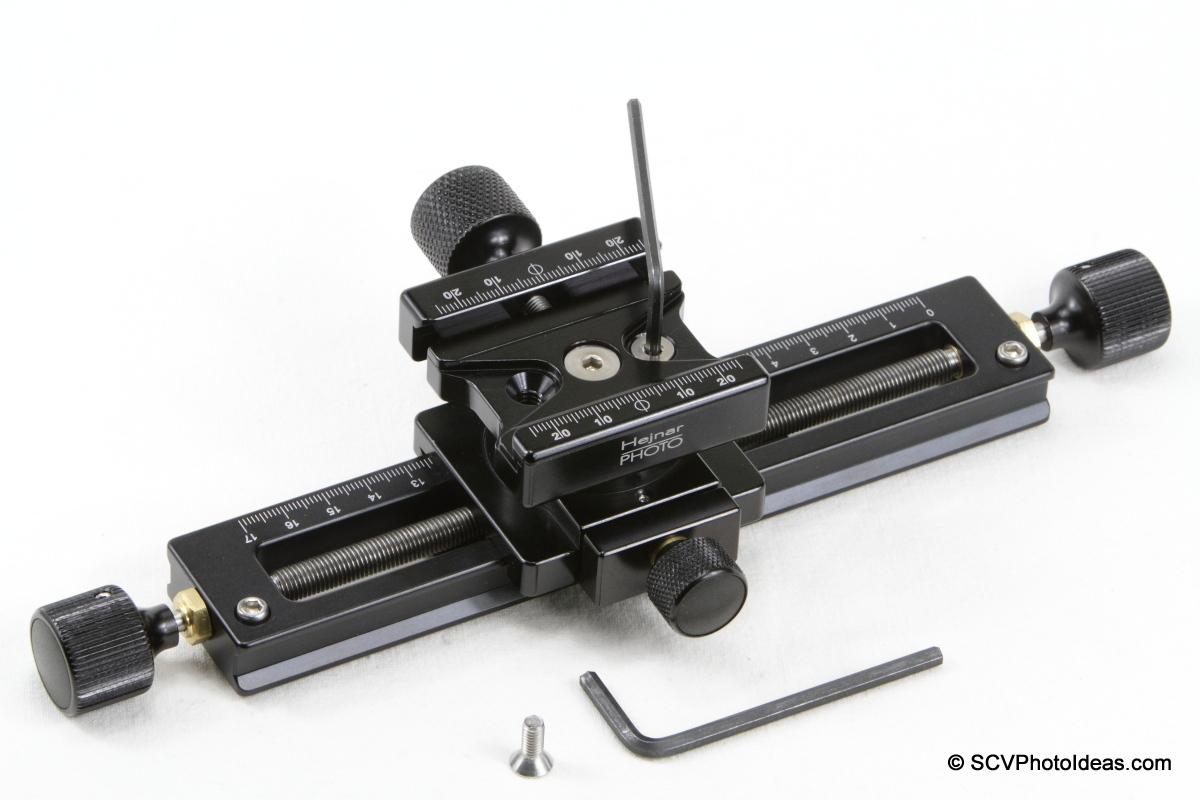 Hejnar PHOTO MS-3 GMFR QR clamp reorientation