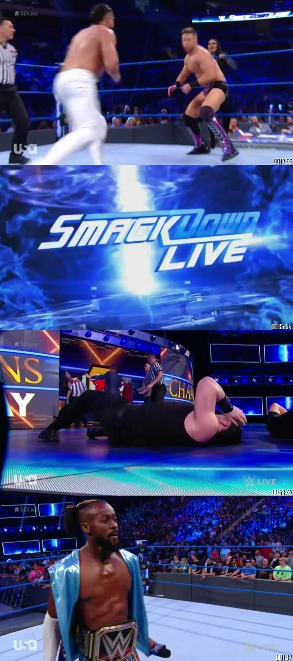 Screen Shoot of WWE Smackdown Live 10 September 2019 HDTV 480p 300MB