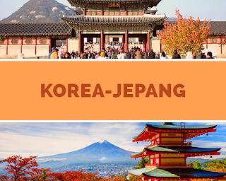 Backpacker Hemat, ke Jepang atau Korea Selatan