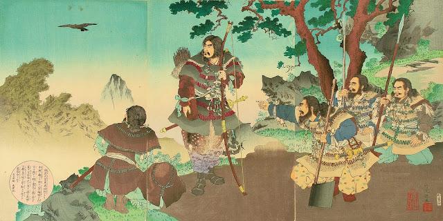 Representació llegendària de l'emperador Jinmu