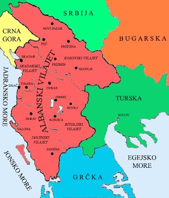 Quando l'Italia firmò per la spartizione dell'Albania (con Grecia e Serbia)