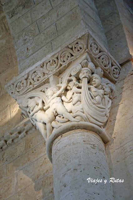 Capitel de San Martín de Frómista