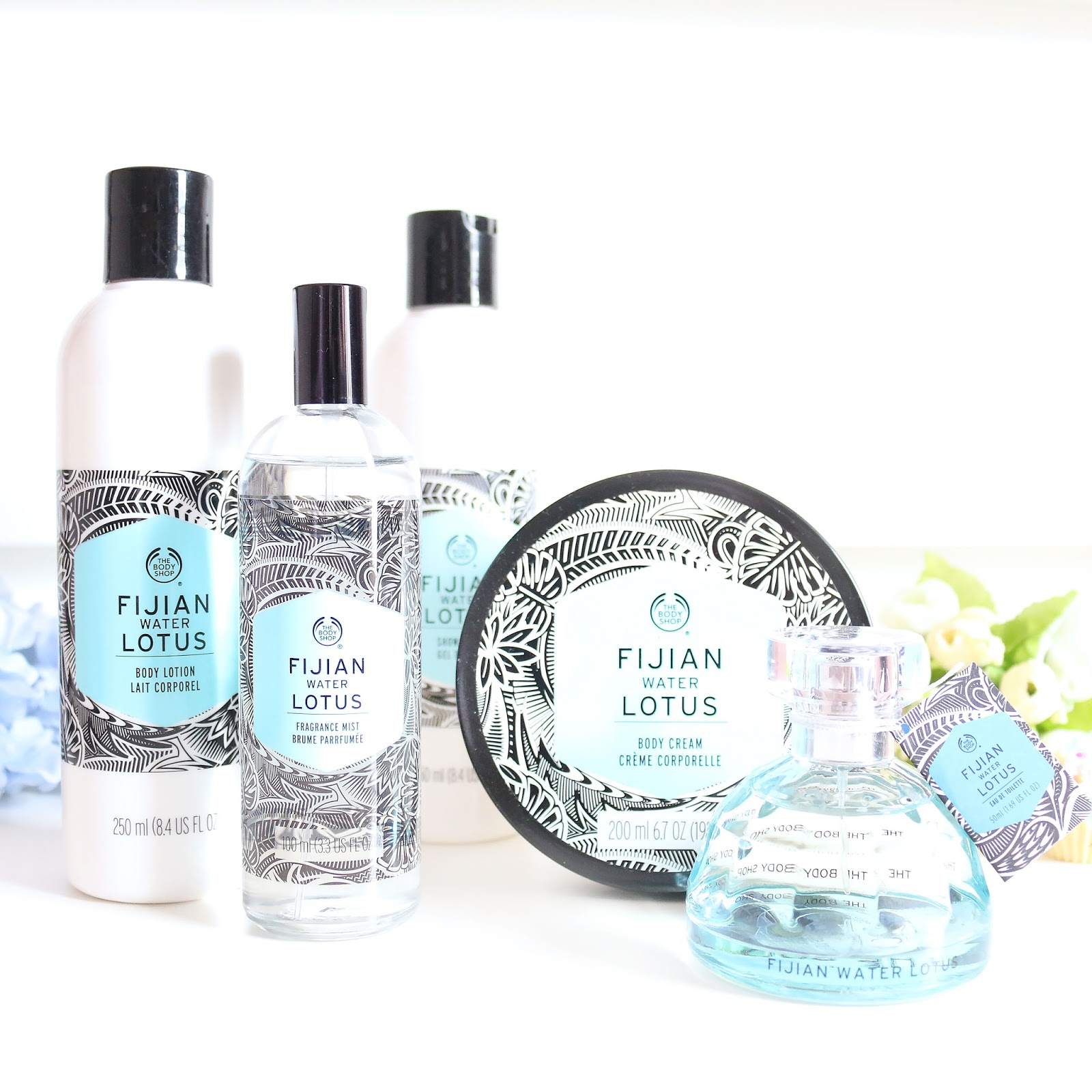 the body shop, body shop, review, beauty, skincare, fijian water lotus, the body shop voyage collection, voyage collection,