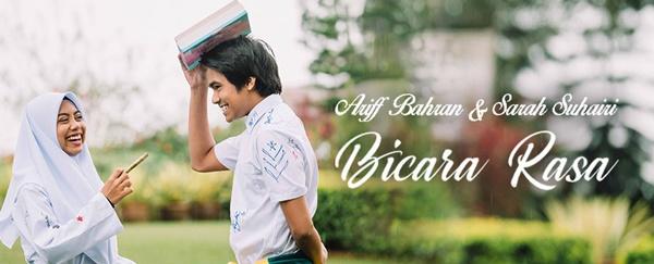 Lirik Lagu : Bicara Rasa - Sarah Suhairi & Ariff Bahran (OST Sara Sajeeda)