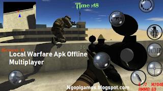 Game Local Warfare FPS Apk Offline Multiplayer