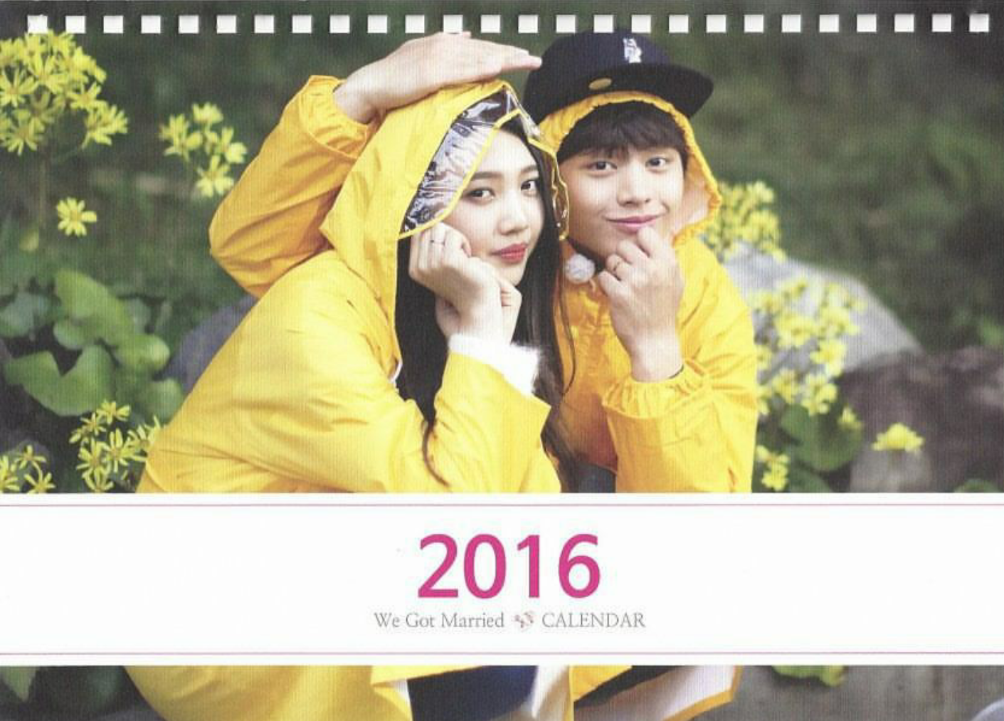 Episode Calendar.Sungjoyfamily Wgm 300th Episode Official Calendar Bbyu
