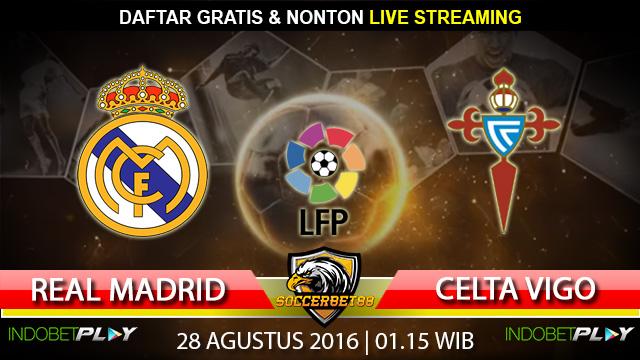 Prediksi Real Madrid vs Celta Vigo 28 Agustus 2016 (Liga Spanyol)