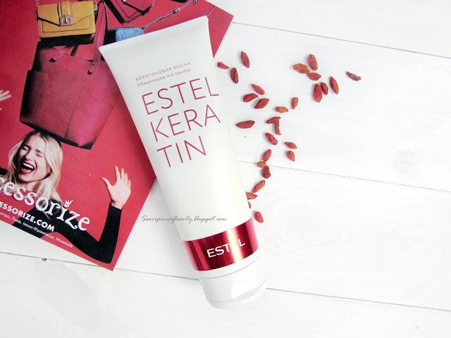 Волшебная кератиновая маска для волос от Estel Professional / блог A piece of beauty
