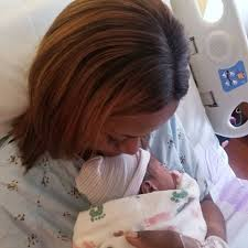 Linda Ikeji welcomes son
