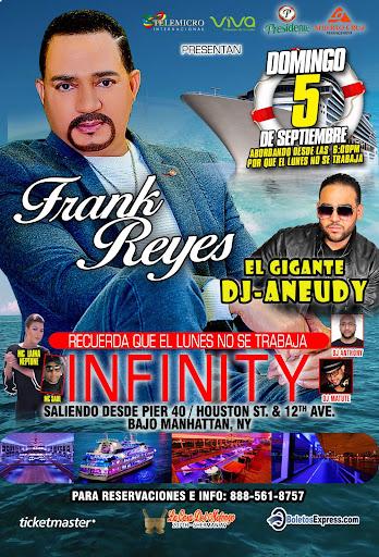 FRANK REYES EN EL INFINITY EL YATE MAS LUJOSO DE NY