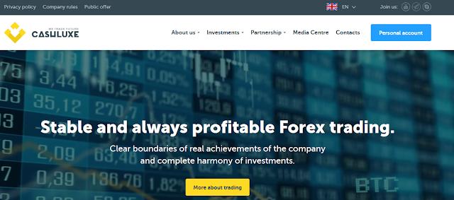 [SCAM] Мошеннический сайт cashluxe.trade (info@cashluxe.trade) - Отзывы, платит или лохотрон?