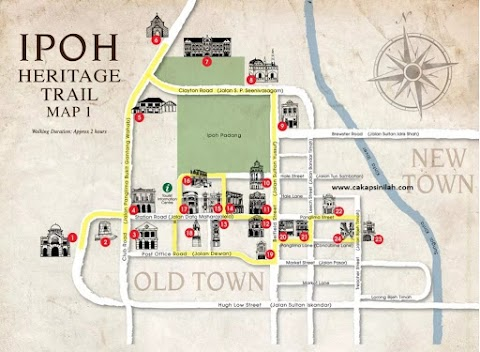 Heritage Trail Ipoh