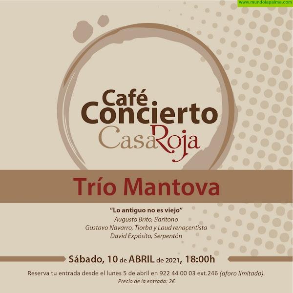 Mazo invita al Trío Mantova a su temporada de Café-Concierto
