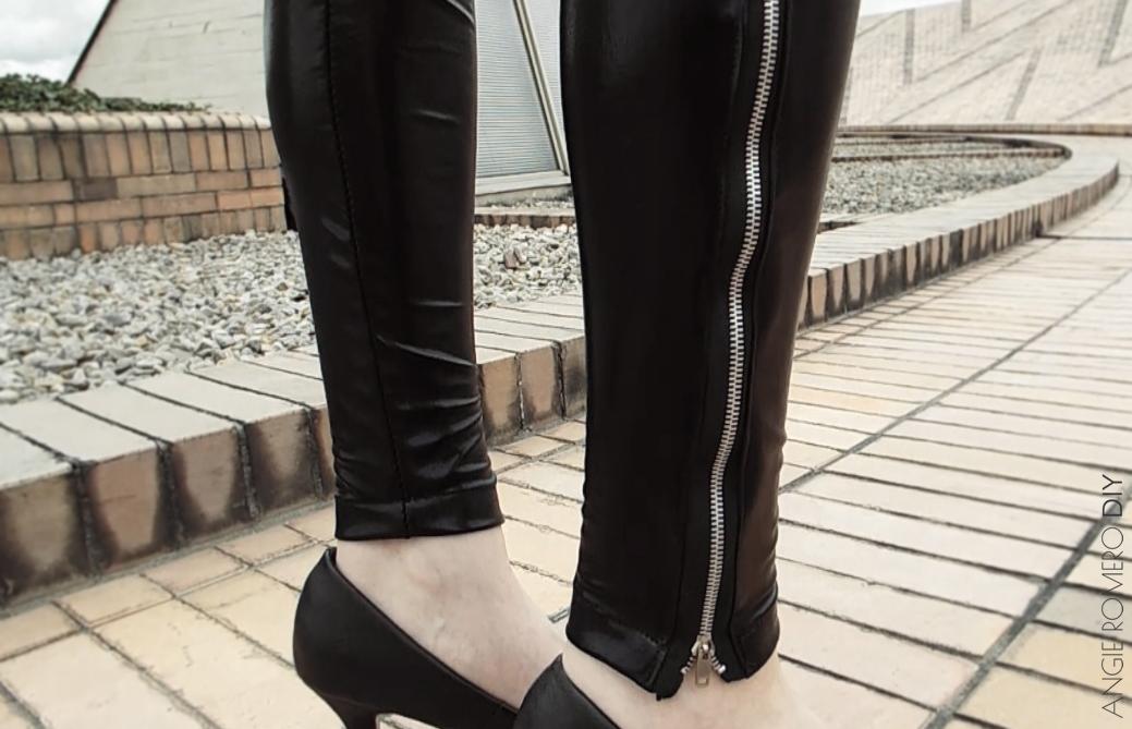 Cómo hacer unos leggings sin moldes - sin patrones