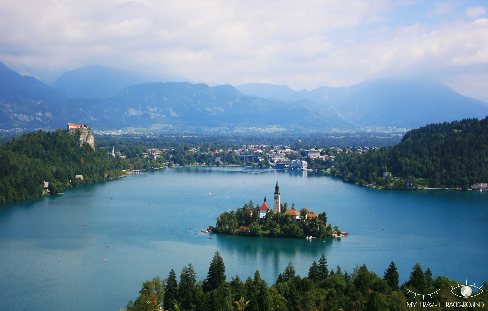 My Travel Background : top 5 de mes souvenirs 2017 ! Bled Slovénie