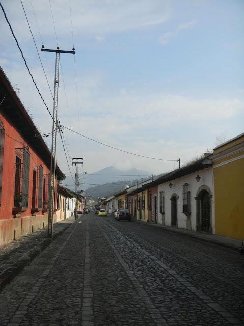 世界遺産 街並み アンティグア