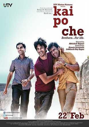 Kai Po Che 2013 Full Hindi Movie Download HDRip 720p