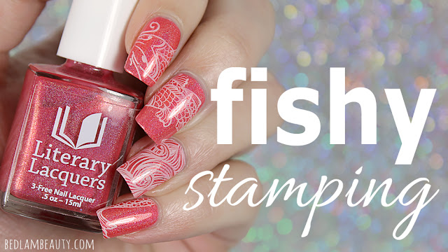 Literary Lacquers Fishy Stamping