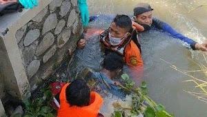 Seluruh Korban Tenggelam di Sungai Kalimalang Cikarang Pusat Sudah Ditemukan