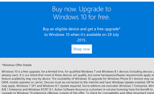 Windows 10 upgrade isn't as free as you think