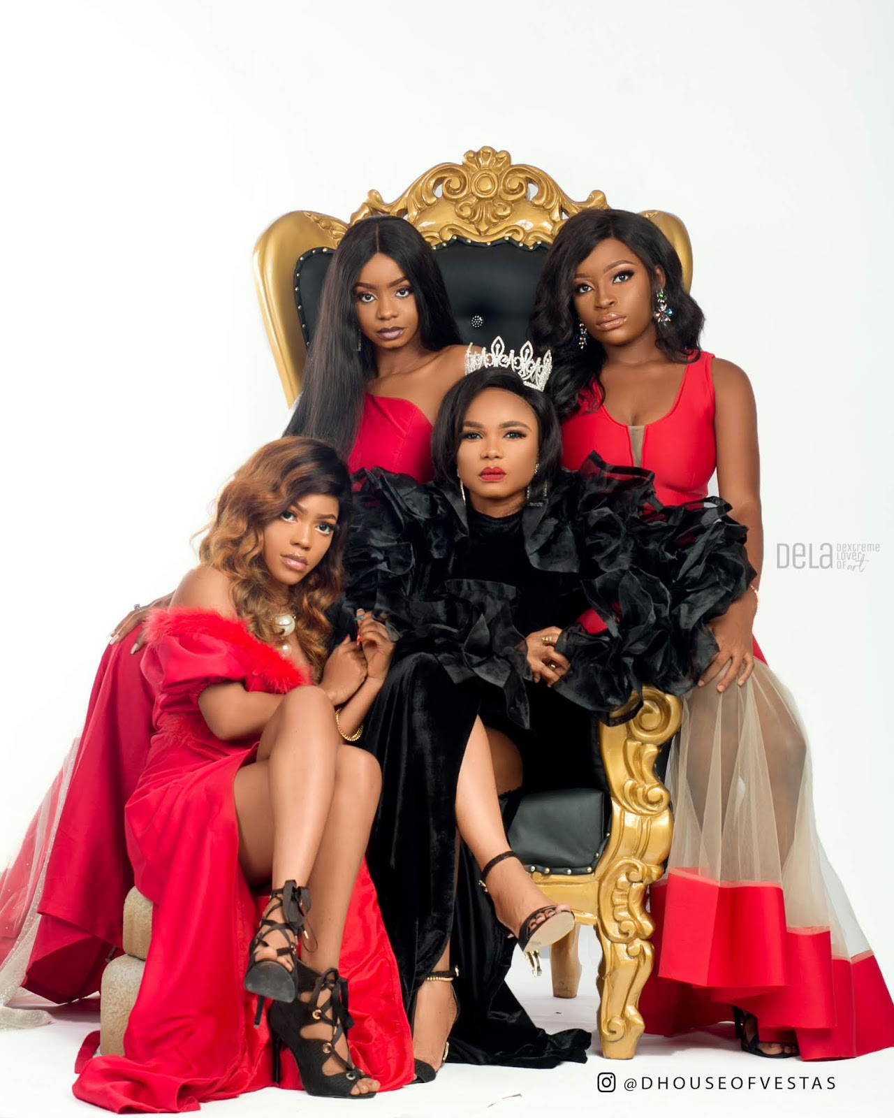 House Of Vestas THE LIONESS AND HER CUBS Featuring Actress Iyabo Ojo Priscilla Ojo Miss Lucy Thacutegemini