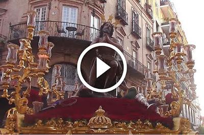 Jesús de las Penas se traduce en Velázquez Domingo de Ramos en Sevilla en el año 2017 antes de entrar en Campana