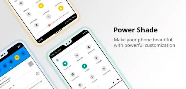 Power Shade: Notification Panel & Quick Settings Mod Apk Lastet 2020