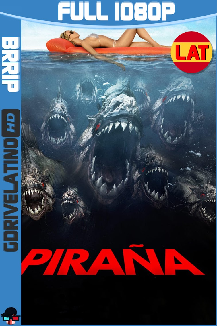 Piraña 3D (2010) BRRip 1080p Latino-Ingles MKV