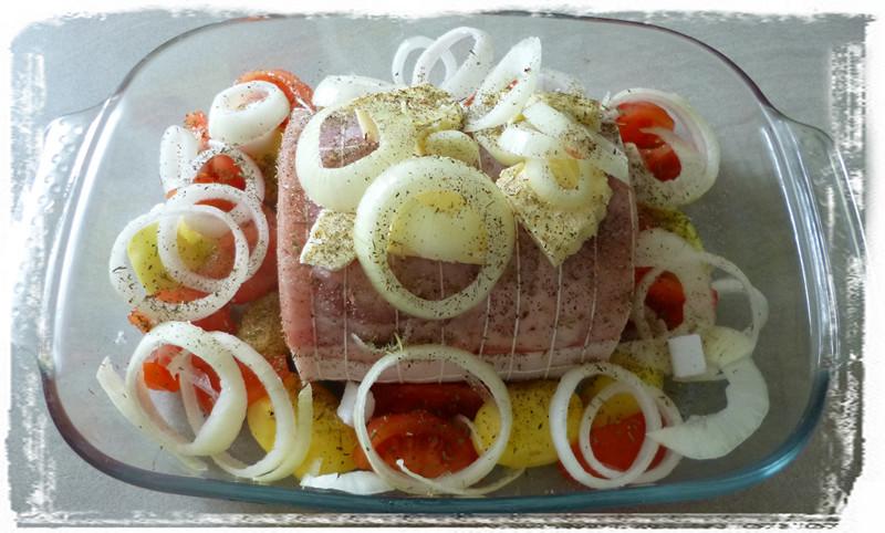 Je m 39 clate avec mes 10 doigts les petits plus pour cuisiner un bon r ti de porc - Cuisiner un roti de biche ...