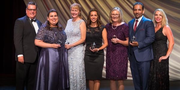 San Diego County Teacher of the Year winners.