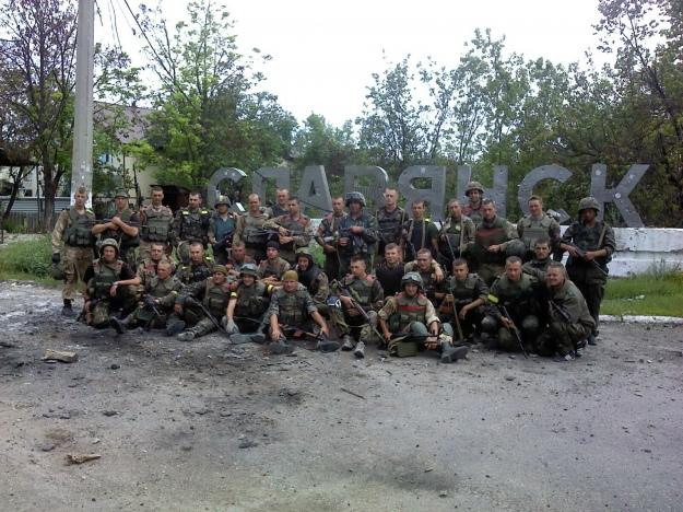 Ковальчук 80 бригада, Слов'янськ